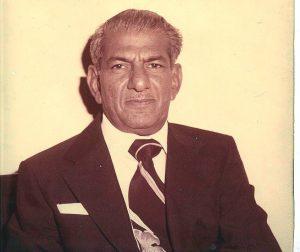 Late Wali Muhammad Akbar Jee